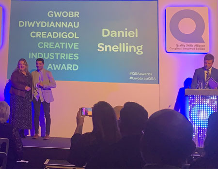 Daniel Snelling wins apprentice of the Year!